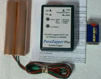 ParaZapper ™ PLUS-2 Dr. Hulda Clark zapper parasite zapper hulda's zapper